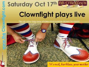 Clownfight Live bb oreilly final