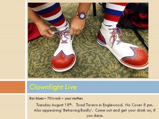 Clownfight Live shoes